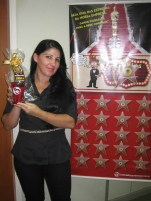 Diana Tamanini Bonfim (recuperadora premiada filial Vitória)