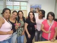 Dra. Lúcia Gomes (gerente Pré-Jurídico Matriz) e equipe Pré-Jurídico Matriz