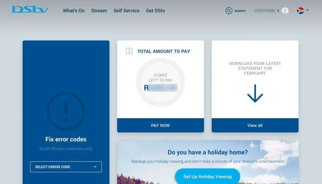 How To Check DSTV Account Balance Easily - DSTV Self Service
