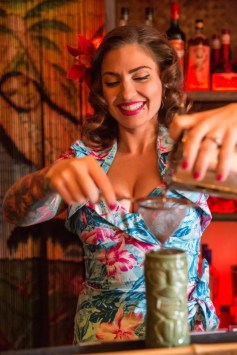 "Palm Springs only ""Tikieasy"" serving tiki-inspired craft cocktails in the original Don the Beachcomber space"