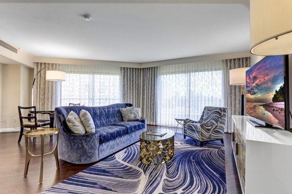 Executive Suite Living Area 2