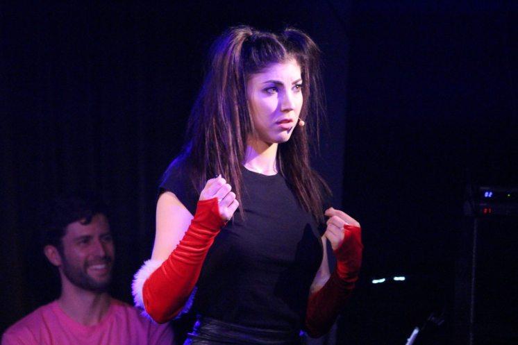 Briana Cuoco as Karen Smith - Santa Gloves