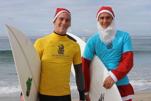 Surfing Santa Ritz Carlton4