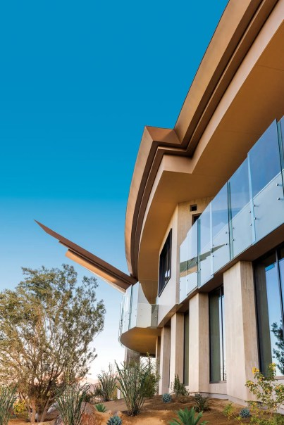 BIGHORN Clubhouse Exterior angle