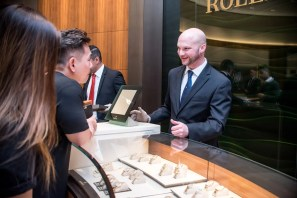 Steve Monds of Rolex Boutique