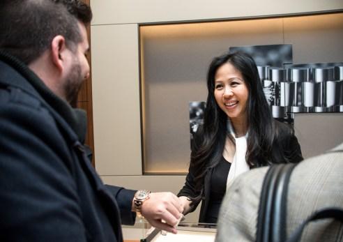 Christina Wong of Rolex Boutique