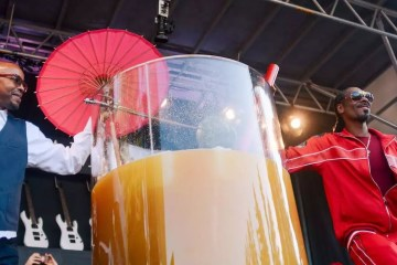 World Record Gin and Juice