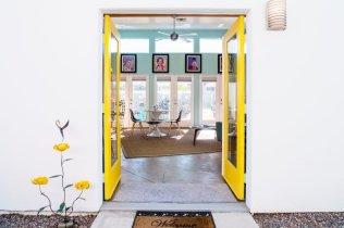 Open door Airbnb