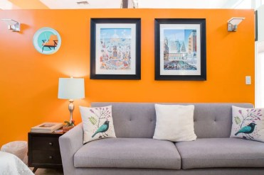 Sofa Pillow Airbnb
