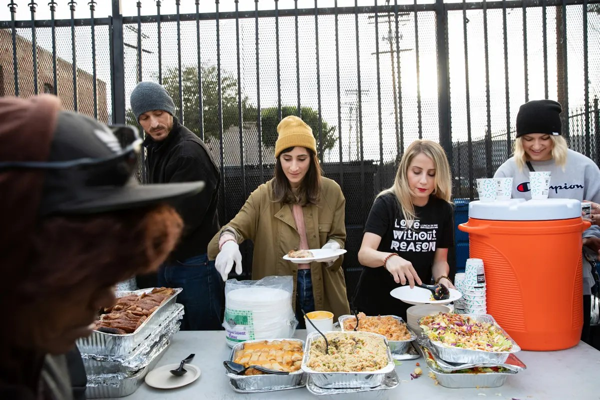 Meals to Skid Row