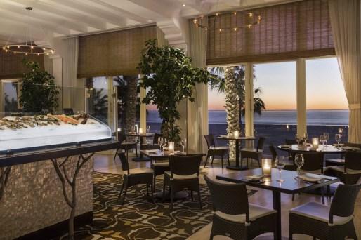 Catch Restaurant at Hotel Casa Del Mar in Santa Monica CA.