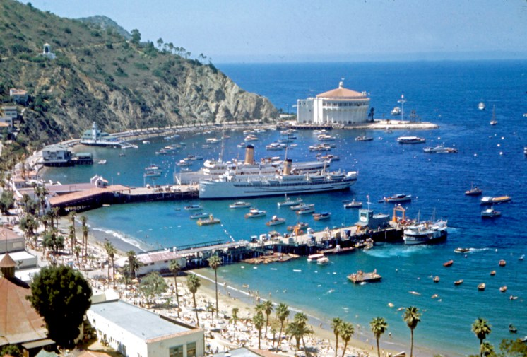 Charles Phoenix Kodachrome Collection, Catalina, 1957