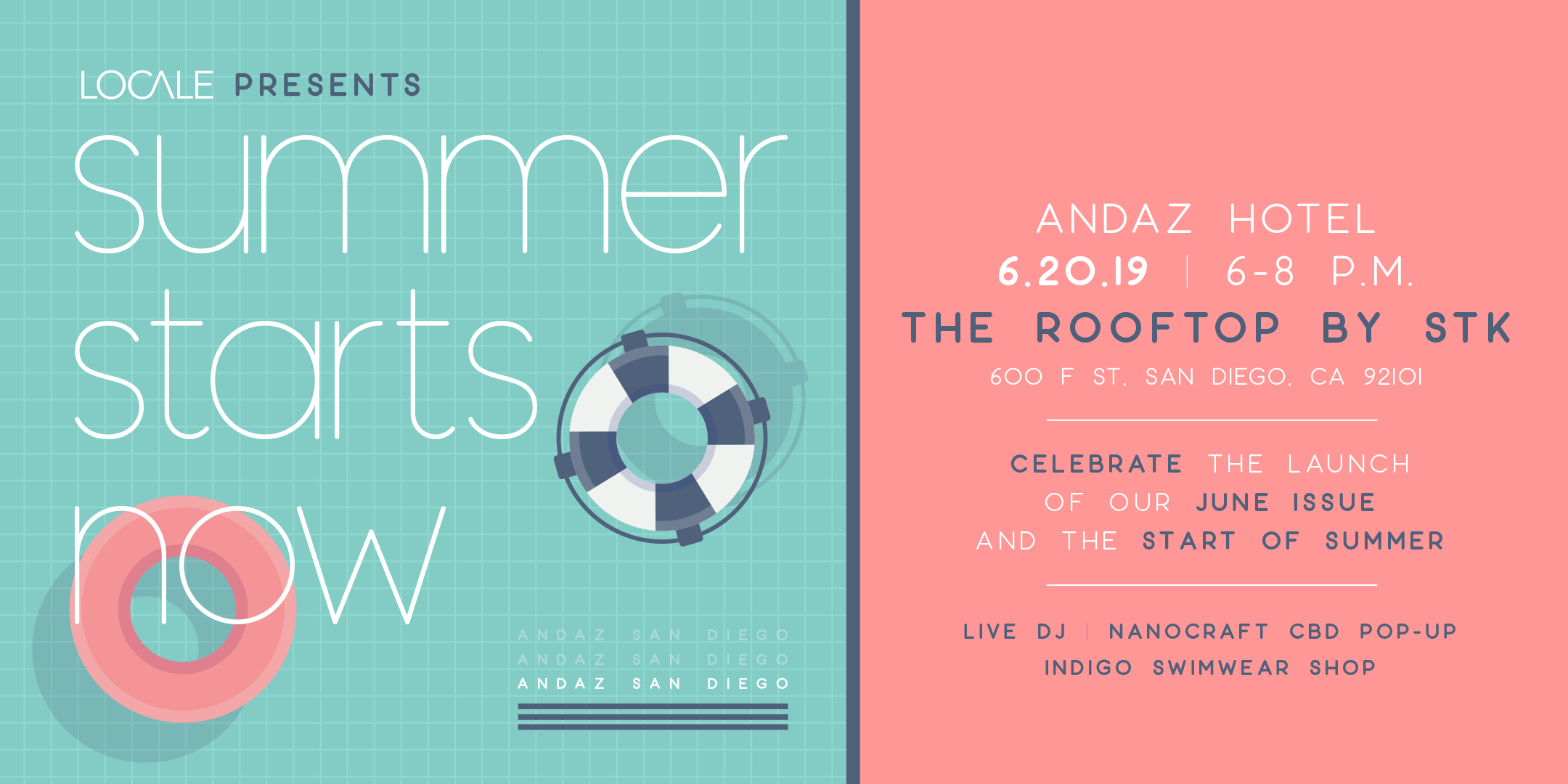 Summer Starts Now | Locale's San Diego Issue Release Party