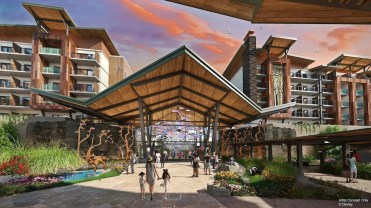 Reflections: A Disney Lakeside Lodge is a unique hotel and proposed Disney Vacation Club resort in development at Walt Disney World Resort in Florida. The new resort draws inspiration from the wonders of nature and artistry of Walt Disney. (Disney)