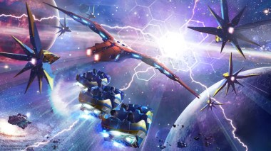 """Guardians of the Galaxy: Cosmic Rewind will be the first """"other-world"""" showcase pavilion at Epcot. The attraction will feature a new storytelling coaster that rotates to focus guests on the action, and will include the first reverse launch on a Disney coaster. (Disney/Marvel)"""