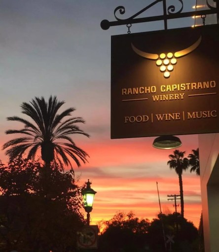 Photo Provided By: Rancho Capistrano Winery