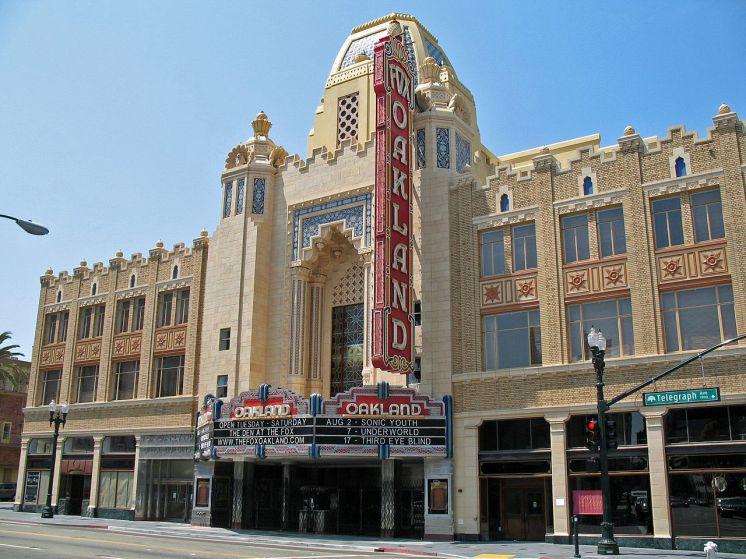Fox Oakland Theatre Sanfranman59 of Wikimedia