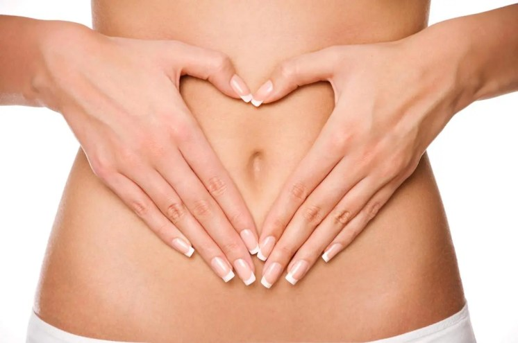 Stock Photo Woman's Stomach