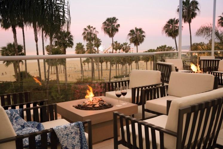 Loews Santa Monica_FiresideLounge