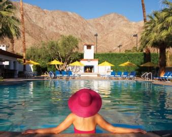 La Quinta Resort_044-La Quinta-Main Pool with Pink Hat