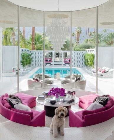 Modernism Week_VILLA GRIGIO Interior Lounge Photo by Douglas Friedman