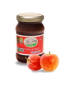 geleia de maçã sem açúcar orgânica