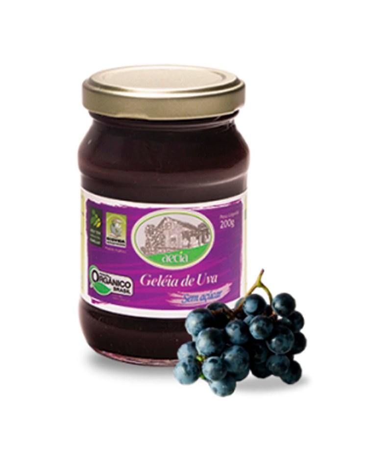 Geleia de Uva sem Açúcar Orgânica