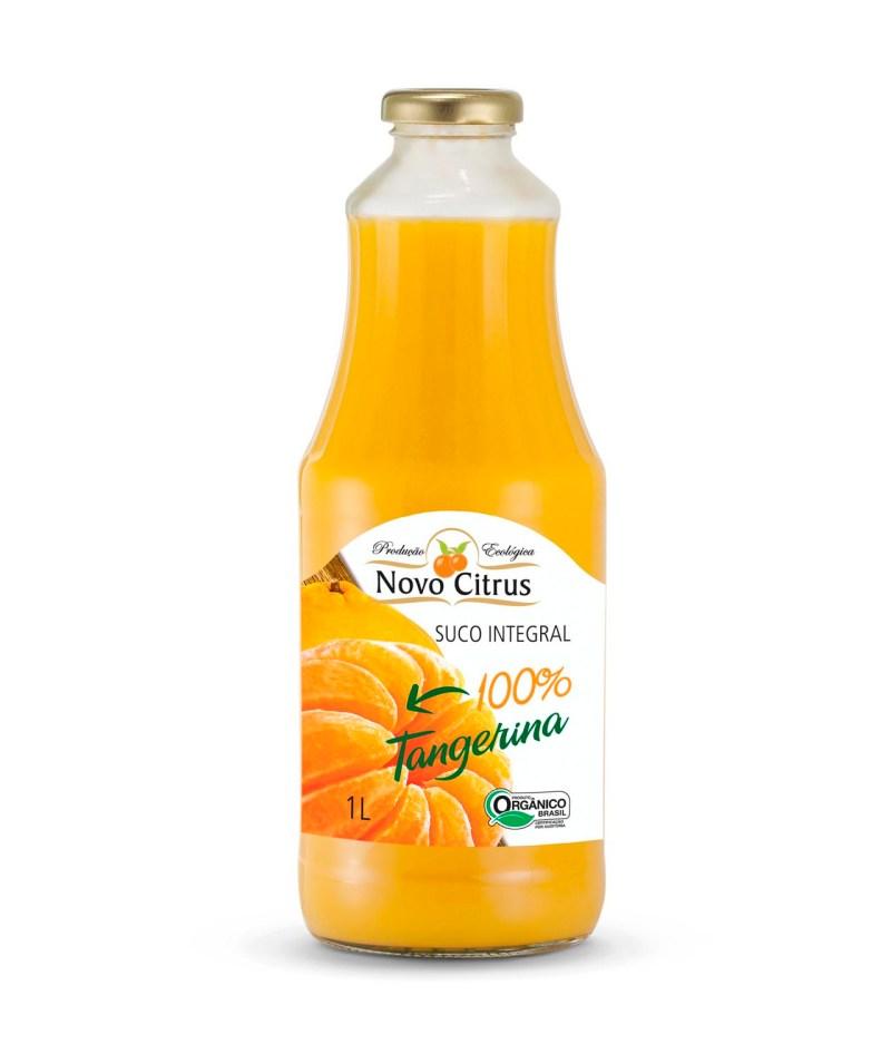 Suco de Tangerina Integral Orgânico