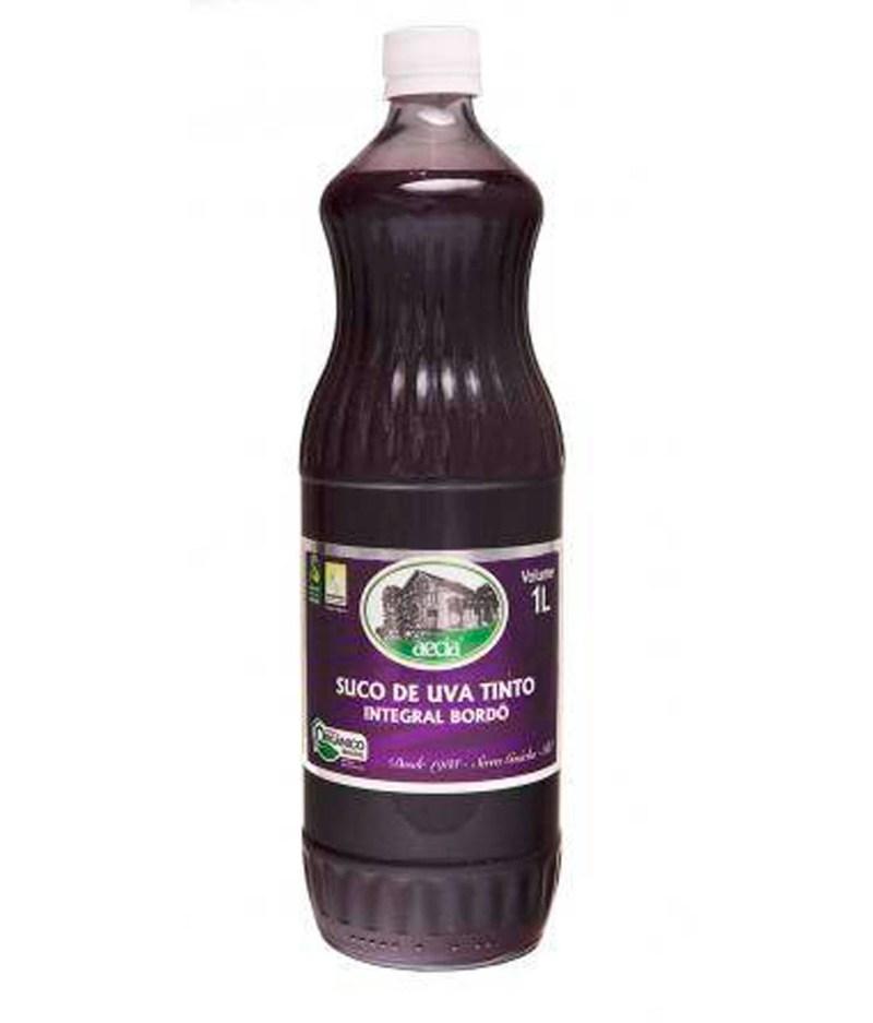 Suco de Uva Tinto Integral Orgânico