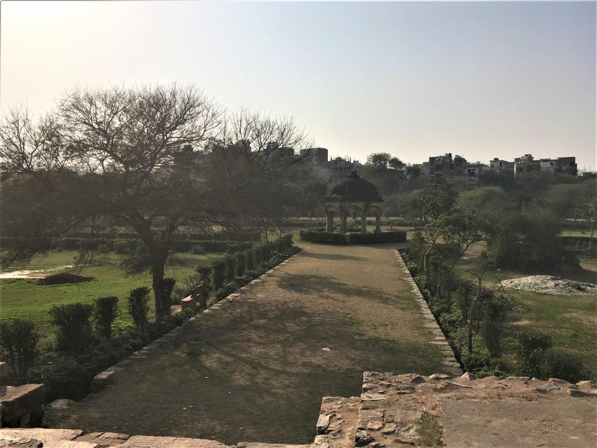 Mehrauli Archaeological Park, New Delhi - 77.7%