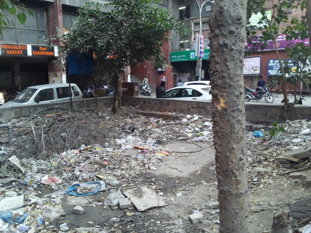 rajendra place garbage dump new delhi local feedback