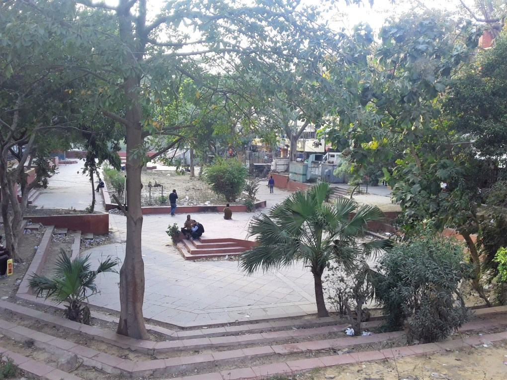 rajendra place outdoor green space new delhi local feedback