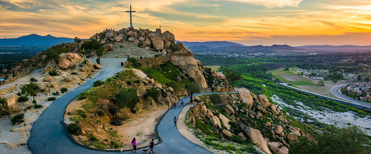 canyon crest riverside california USA resident review rubidoux park
