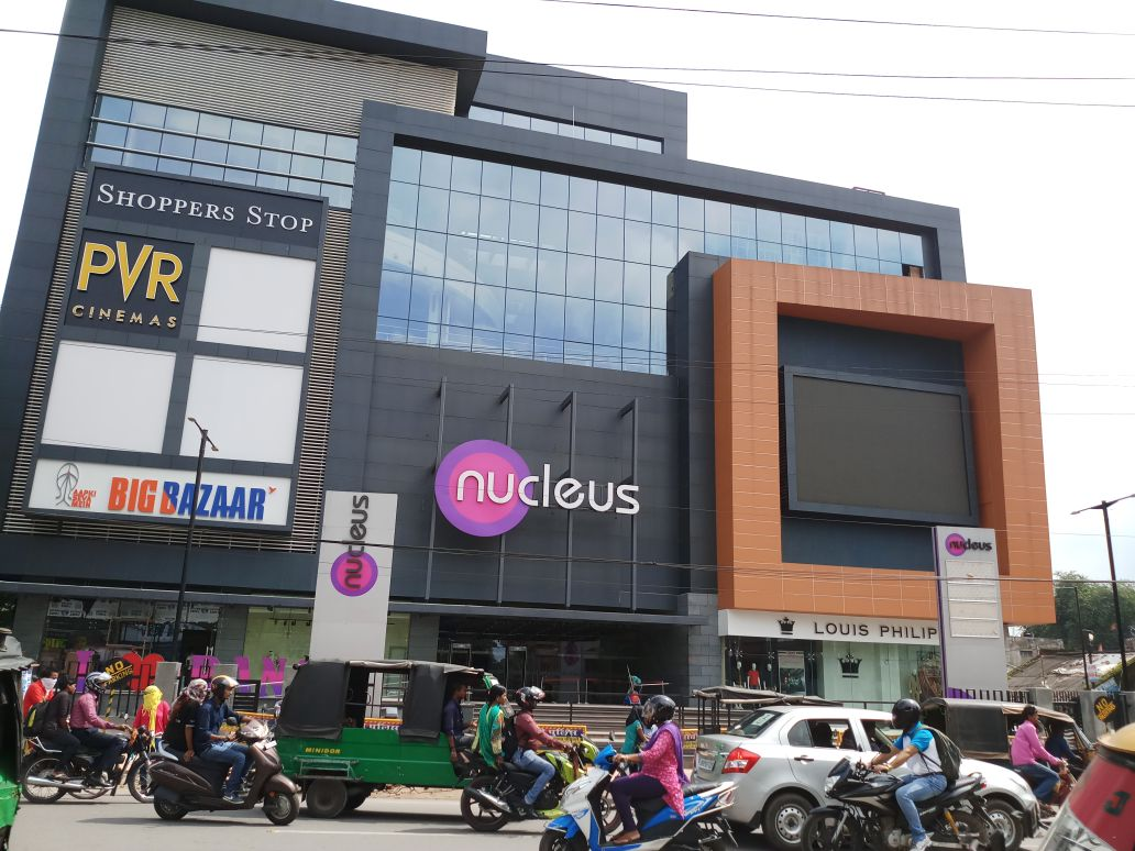 Nucleus Mall, Ranchi, India - 69.7%