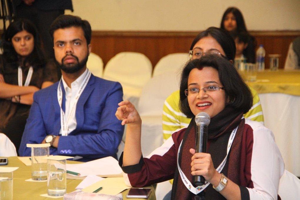 susmita question delhi design festival