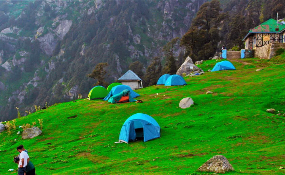 Triund Trek - A Risky walk of 9 km amidst the Hills