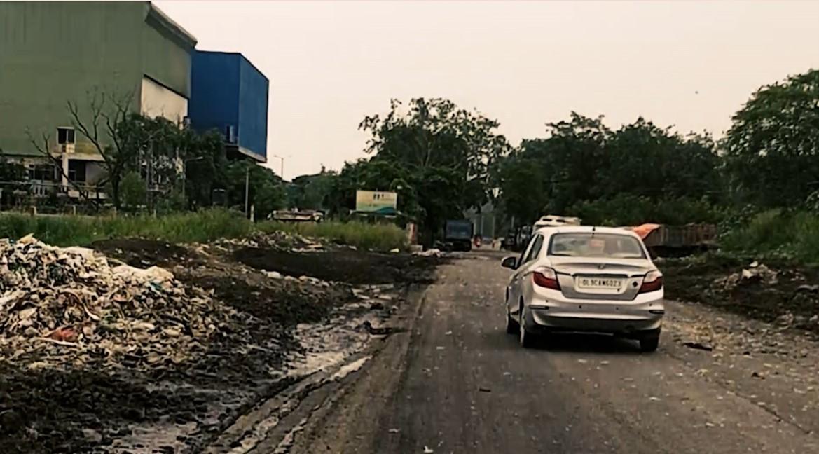 okhla waste management zone delhi