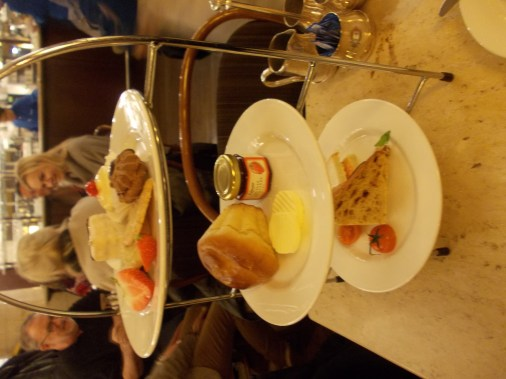 The Afternoon High tea!