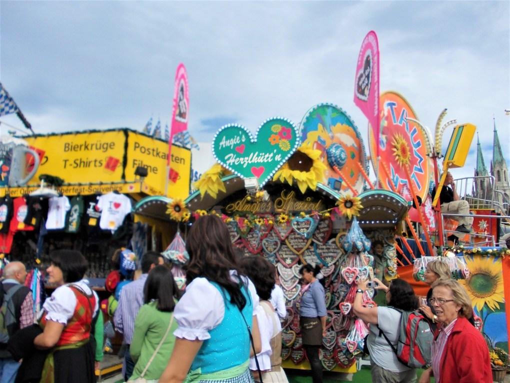 oktoberfest ground stalls