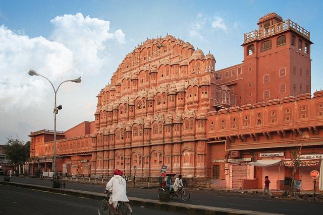 Classical Architecture Hawa Mahal Jaipur