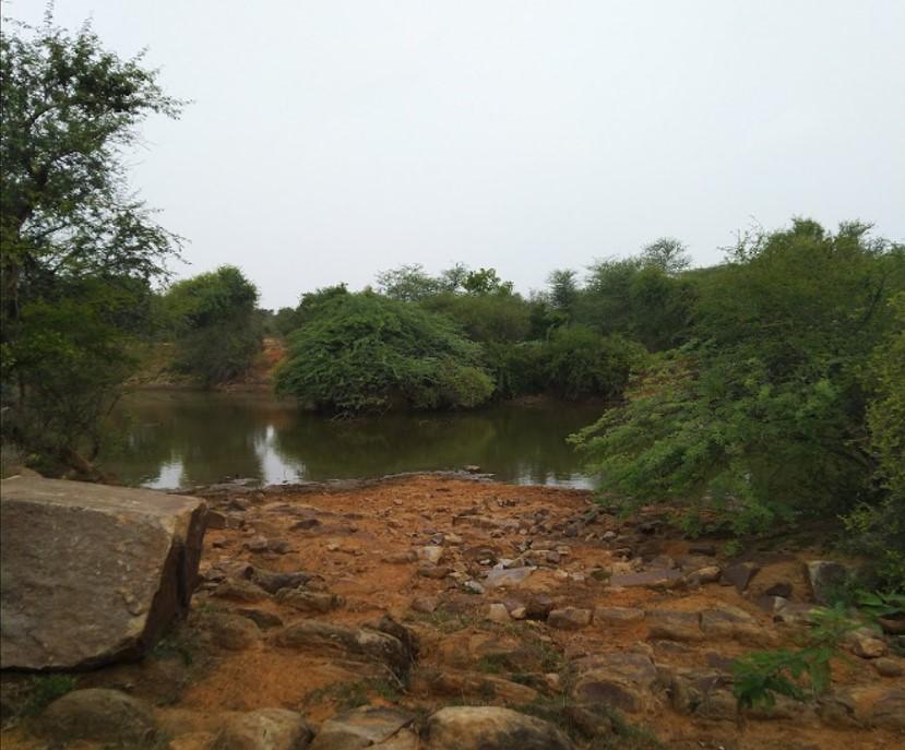 dhouj village james bond lake rock garden