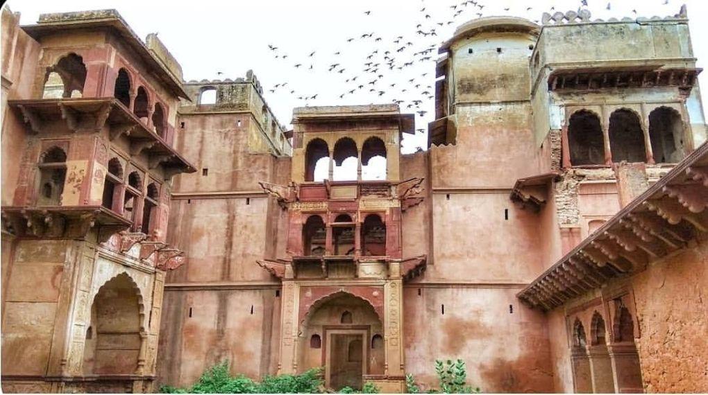 village deeg kumher fort bharatpur rajasthan