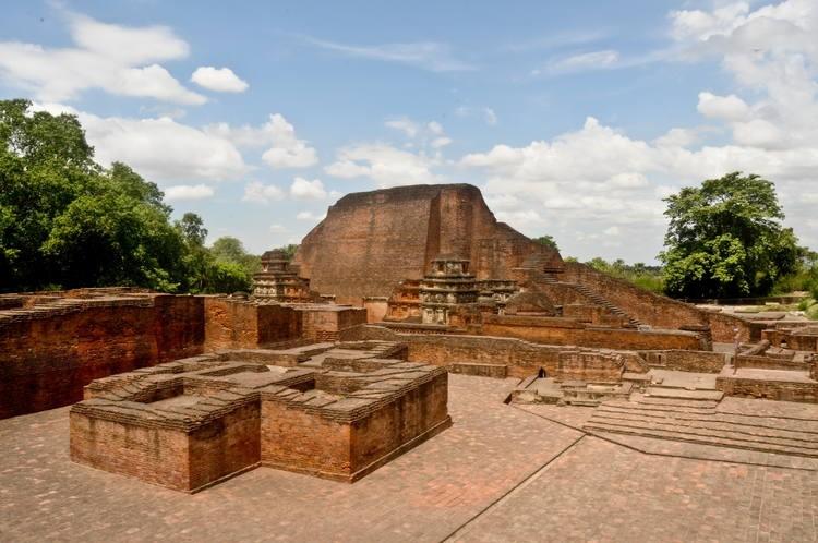 madhaur village bihar nalanda university ruins