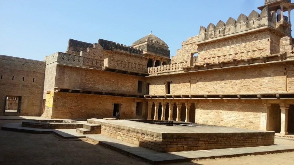 chanderi fort near pranpur village
