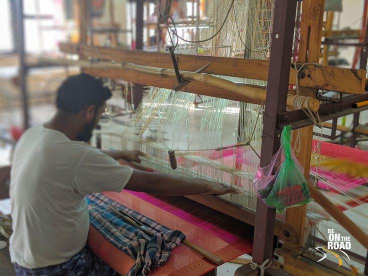 pranpur village handloom work