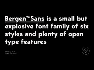 Bergen Sans