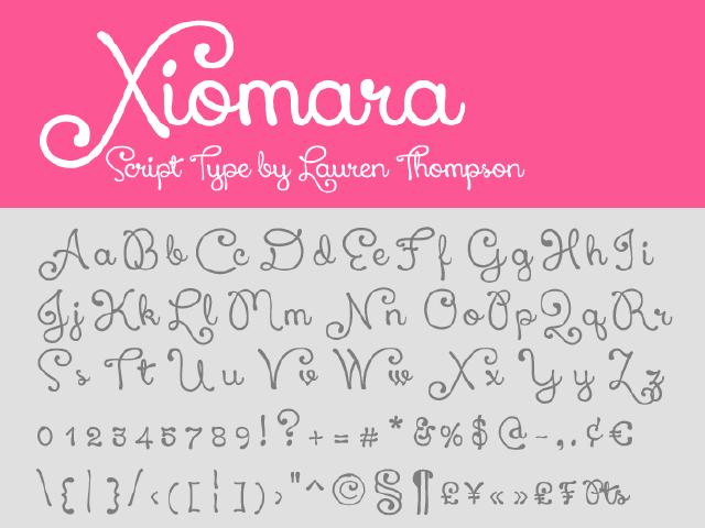 Xiomara-Script