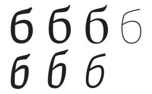 "Cyrillic Letter ""б"""