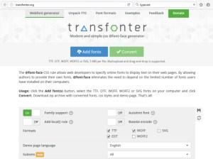 Transfonter