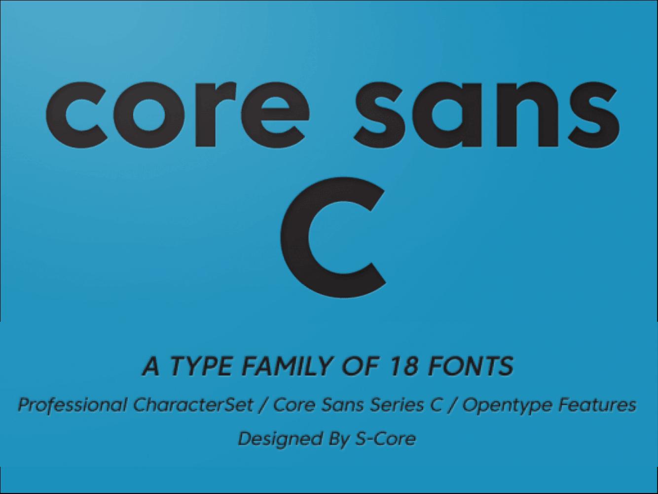 Core Sans C